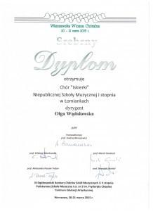 Srebrny-dyplom-Chór-Iskierki-21.03.2015