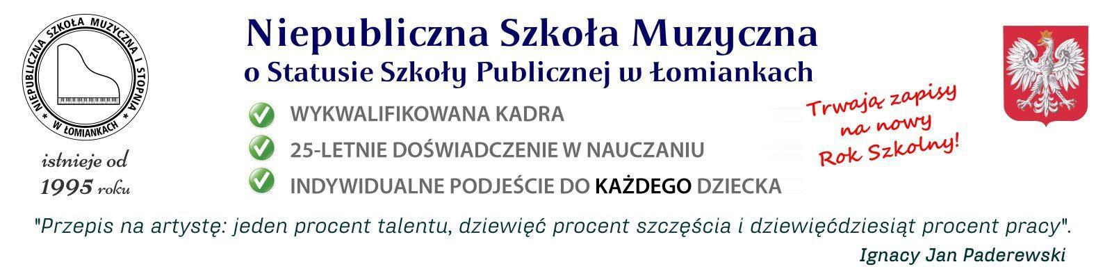 Szkoła Muzyczna w Łomiankach